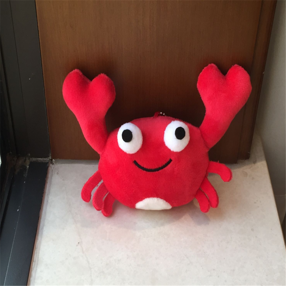 Lovely Cute 14CM Approx. Crab Keychain Plush , Gift Decoration Animal DOLL Stuffed & Plush Animals  - AliExpress