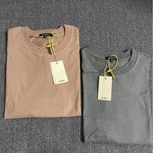 21ss nova kanye west temporada 6 t camisa masculina 100% algodão oversized topo camisetas hip hop estilo verão temporada 6 t-shirts