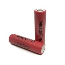 цена на MasterFire 2pcs/lot Original LG ICR18650HE2 2500mah lithium 18650 battery HE2 rechargeable batteries 30A for E-cigarettes