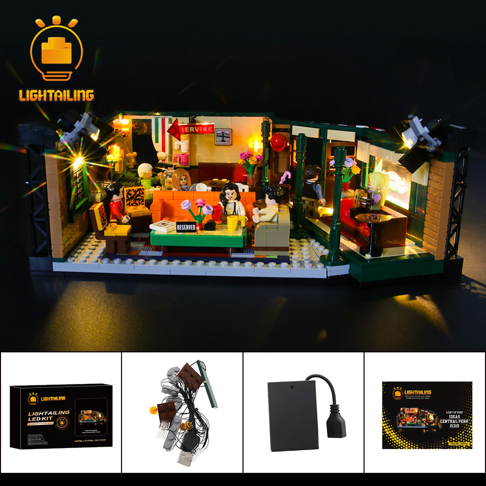 LIGHTAILING LED Light Kit For Ideas Series Central Perk Lighting Set Compatible With <font><b>21319</b></font> (NOT Include The Model) image