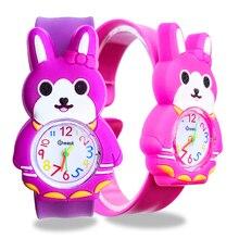 Cute Rabbit Children's Watches for Girls Gift Kids Watches