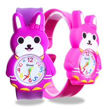Cute Rabbit Children's Watches for Girls Gift Kids