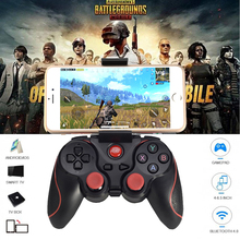 цена на Wireless Bluetooth Gamepad T3 X3 Wireless Joystick Game Controller For IOS Android Mobile Phone Game Handle For PC TV Box Holder