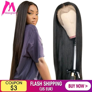 Lace Front Human Hair Wigs Short Straight 28 30 40 inch Brazilian Natural Frontal Wig Full hd Pre Plucked Cheap For Black Women(China)