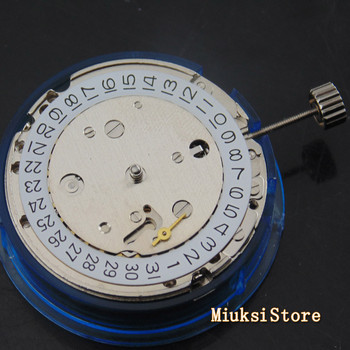 Asia Seagull 1731 automatic date mechanical movement fit Parnis mens watch