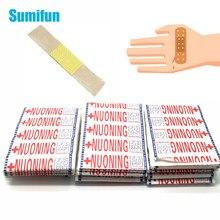 50/100/150 pces primeiros socorros bandagem calcanhar almofada adesivo emplastro bandagem bandagem curativos estéreis remendo adesivo z37001