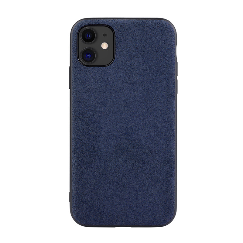 Case For Iphone 12 Pro Max 11 Xr X Xs Max 6S 7 8 Plus Luxury Artificial Leather Business Phone Cases SE2 Cover