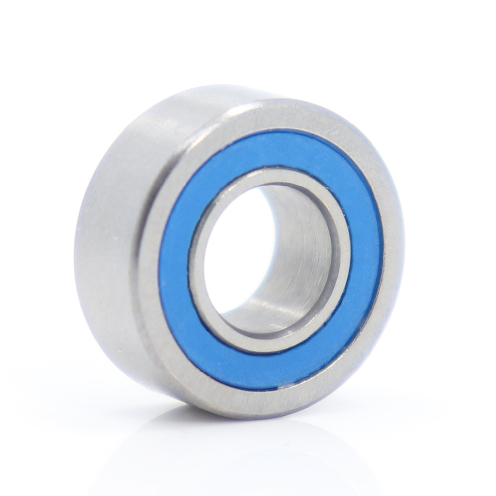 Rubber Double Sealed Ball Bearing BLUE 6800RS 6800-2RS 10x19x5 mm 5 PCS