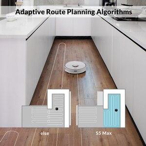 Image 4 - مكنسة كهربائية من Roborock S50 S55 Xiao mi 2 لتنظيف ممسحة المنزل وتنظيف الأتربة ومسار كنس ذكي مخطط له روبوت mi