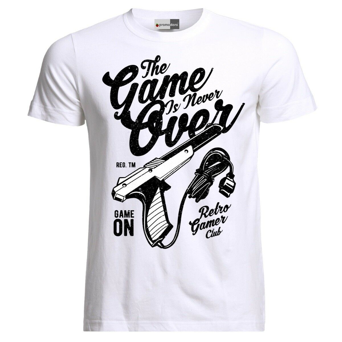 The Game Is Never Over Retro Gamer Club T-Shirt image
