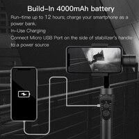3-осевой ручной карданный стабилизатор активная дорожка с фокусом для iPhone 11 8 Huawei Samsung смартфон PTZ Экшн-камера 5