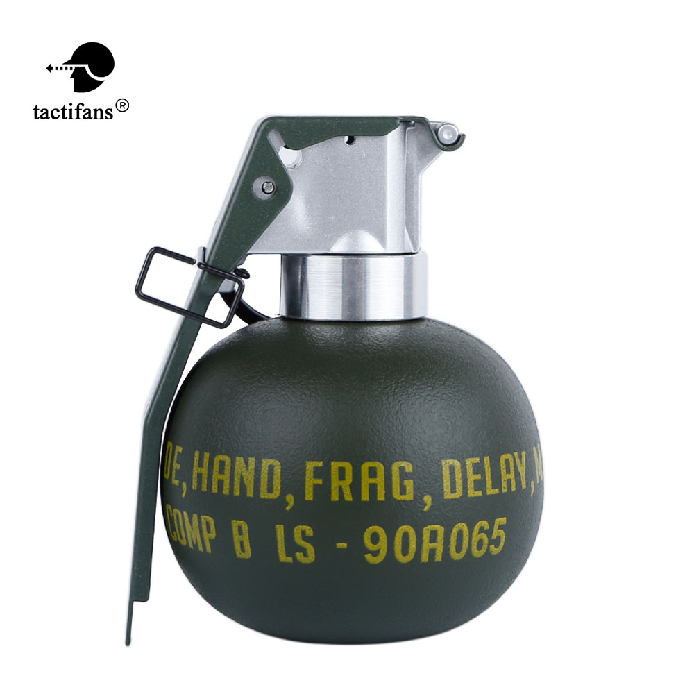 Tactical BB Holder Storage Container Dummy Grenade M67 Model Plastic Costume Military Airsoft Shooting Accessories