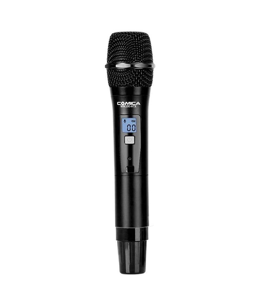 Punho sem Fio Microfone para Comica Sistema de Microfone sem Fio Cvm-wm100