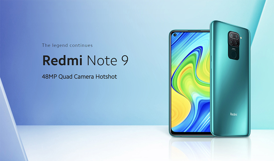 Xiaomi Global Version Redmi Note 9 4GB 128GB 3GB 64GB NFC Smartphone MTK Helio G85 Octa-core 48MP AI Quad Camera 5020mAh Battery