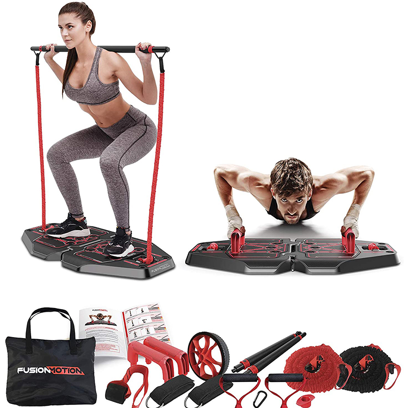 Permalink to Multifunction Pushup Board Full Body Workout Fitness Equipment for Home Gym Push Up Stand  Abdominal Exercise Resistance Bands