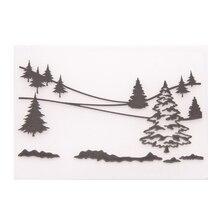 Embossing-Folder-Template Card Scrapbook Paper-Craft Photo-Album Christmas-Tree Flower