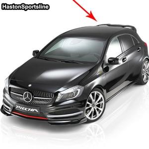 Image 5 - Pour Mercedes A classe A45 AMG W176 FRP aileron de toit arrière A180 A200 A220 A250 A260 aile de toit arrière 2013 2017