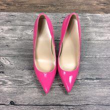 Sapatos de salto alto femininos, sapatos exclusivos de marca patenteados de 8 cm 10 cm 12 cm para mulheres 2020