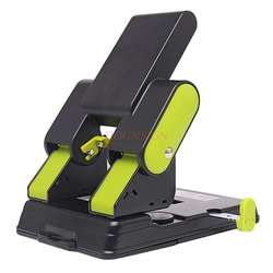 Hole puncher stationery binding puncher two-hole paper multi-page punch thick paper double-hole round hole punch hole