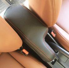 Housse de protection adaptée à la Honda, couture de couverture d'accoudoir de porte, garniture de coque en cuir PU pour 2014 2015 2016 2017 2018