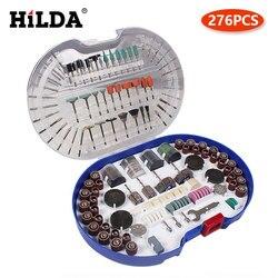 HILDA — Accessoires pour machine rotative, découpage facile, meulage, ponçage, polissage, combinaison d'outils pour Hilda et Dremel
