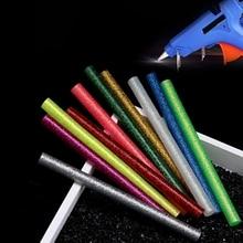 Assorted Sticks Glue-Gun Hot-Melt-Glue Adhesive Glitter Colored 7mm 5pcs for Electric