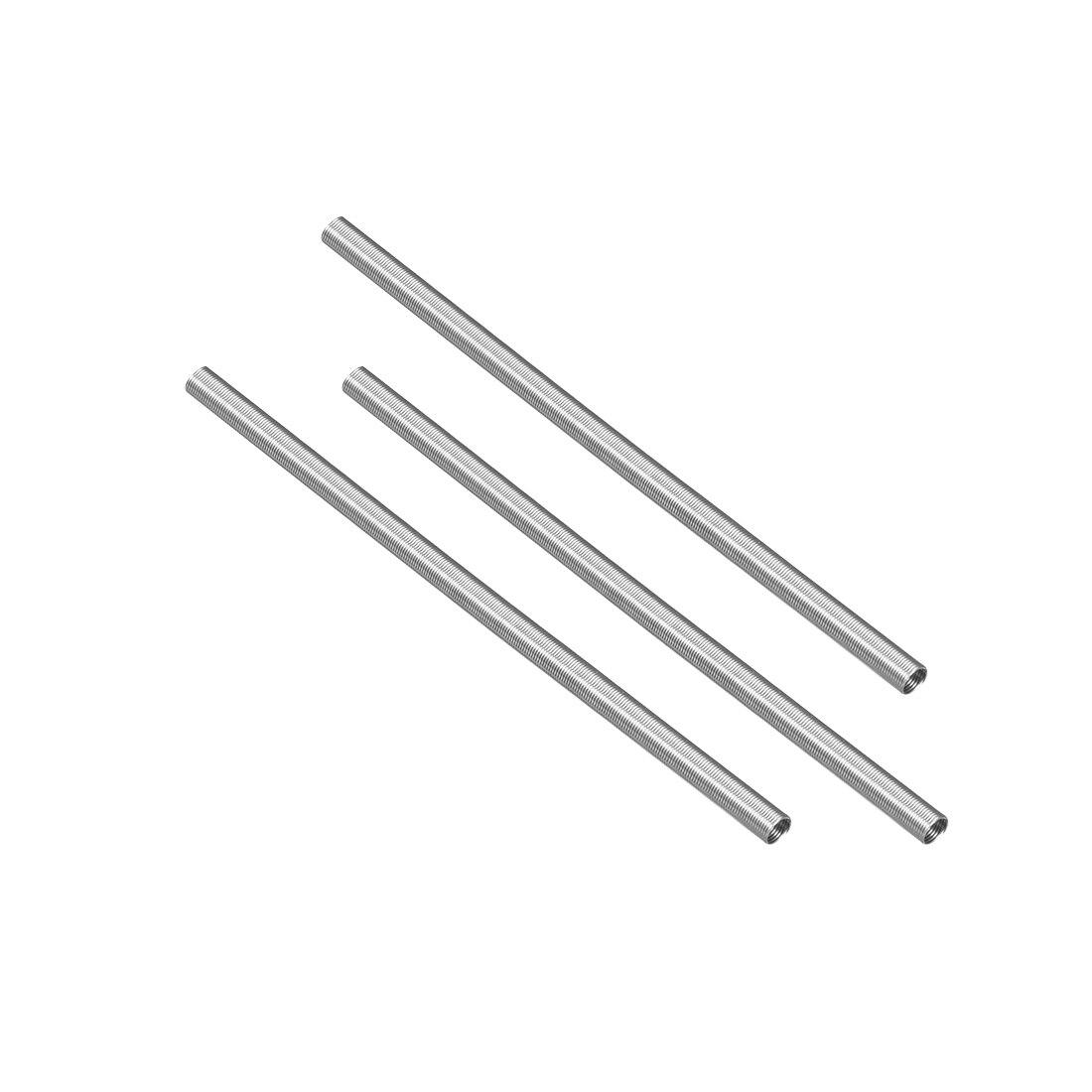 Uxcell rezystora grzewczego drutu nichrom pręty odporność na przewody do elementy grzejne 50w-800w 4.2x230mm DxL 3 sztuk