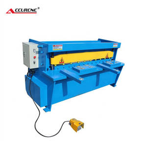 high quality Q11-2*1300 metal plate electric shearing machine for cutting