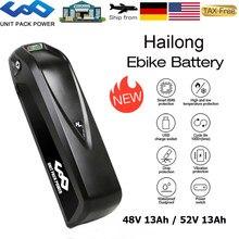 Elektryczna bateria eBike 48V 13Ah 52V 13Ah pasuje do roweru górskiego z USB i ładowarką do Voilamart AW Ancheer 1000W 750W 500W