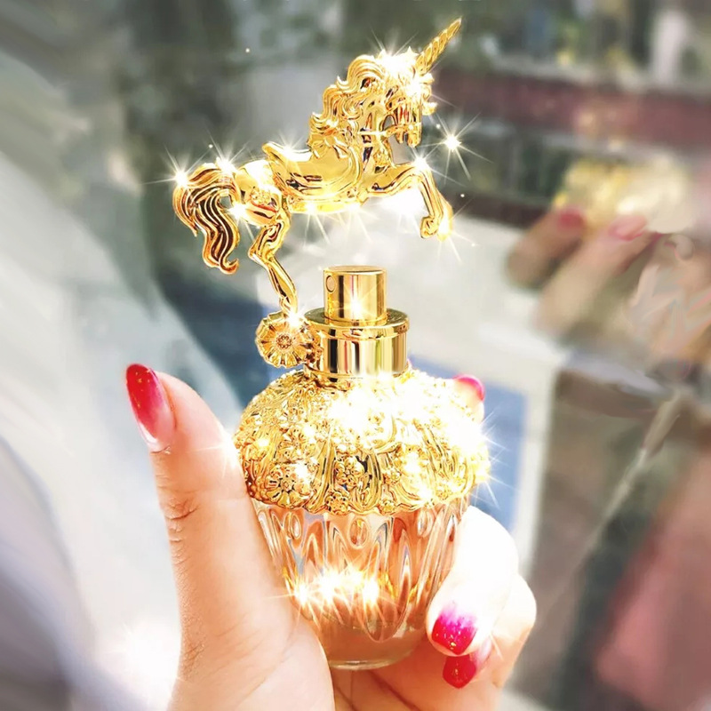80ml Perfume Women Long Lasting Atomizer Glass Bottle Lady Flower Fragrance Spray Scent Parfum Antiperspirant