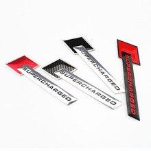 Insignia de emblema para coche, adhesivo de carga Turbo, supercargado, 3D, para Honda CRV Accord Odeysey Crosstour FIT Jazz City Civic