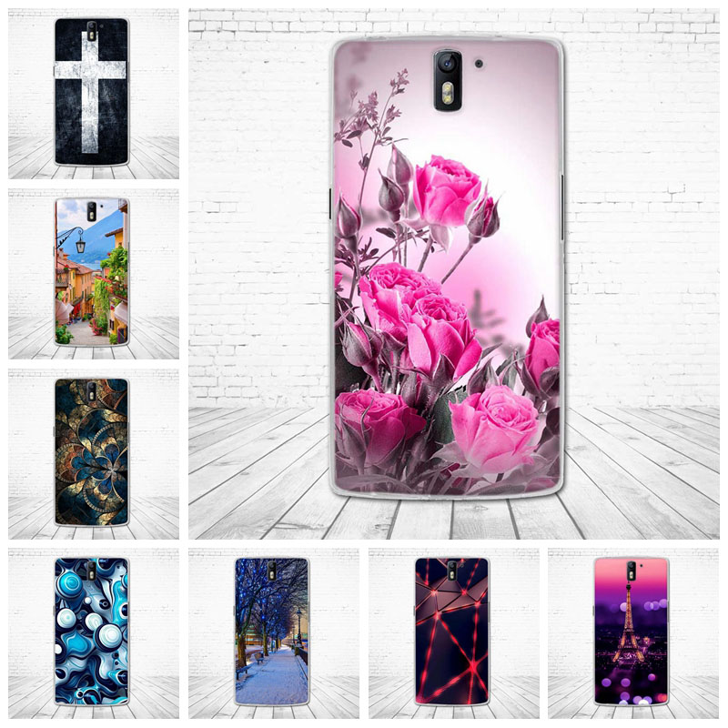 Soft Silicone Case For OnePlus One 1+1 Cute TPU Back Cover for One Plus One+1 Phone Shells Fundas for OnePlusOne Coque Cases