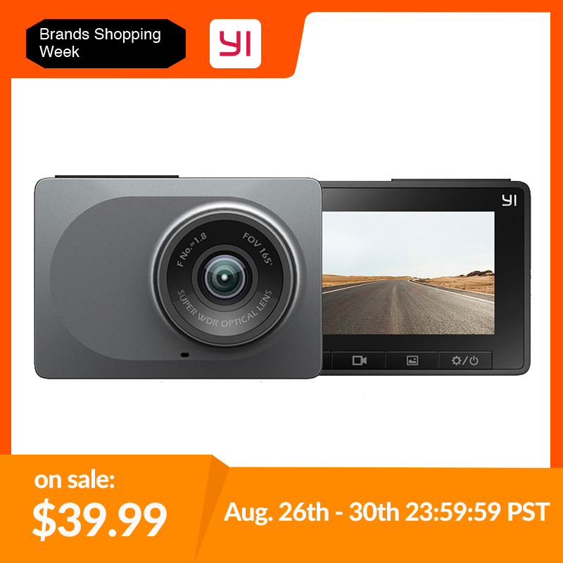 YI Dashboard Camera Safe Wifi 60fps International-Version ADAS Night-Vision 165-Degree