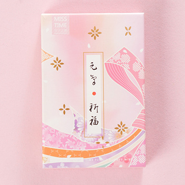 52mm*80mm Good Day Paper Greeting Card Lomo Card(1pack=28pieces)