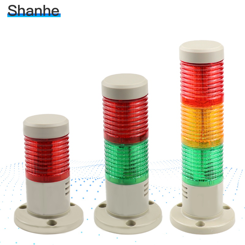 24V 220v Industrial Signal Tower Safety Stack Alarm Light Led Multilayer Steady light Caution Warning Lamp ForMachine(China)
