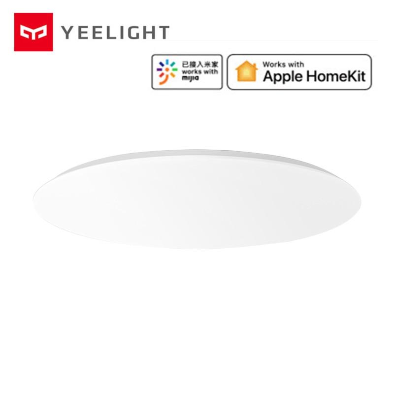 2019 новейший Xiao mi Yeelight Модернизированный 480 мм потолочный светильник 32 Вт умный светодиодный потолочный светильник Поддержка Apple HomeKit Интеллектуальный mi App пульт дистанционного управления