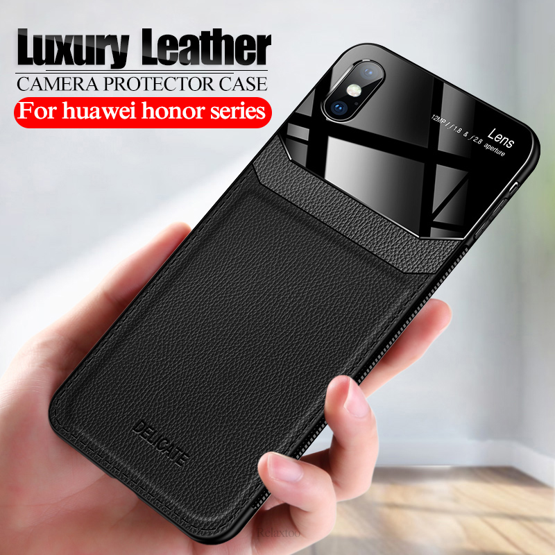 Luxury leather case For iphone 11 pro x xs max xr 6 7 8 plus camera lens protection cover on the iphone11 aifon i phone 11 coque image