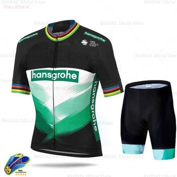 Boraing Hansgrohe Ropa Ciclismo Hombre 2020 verano Ciclismo Jersey transpirable camisa de...