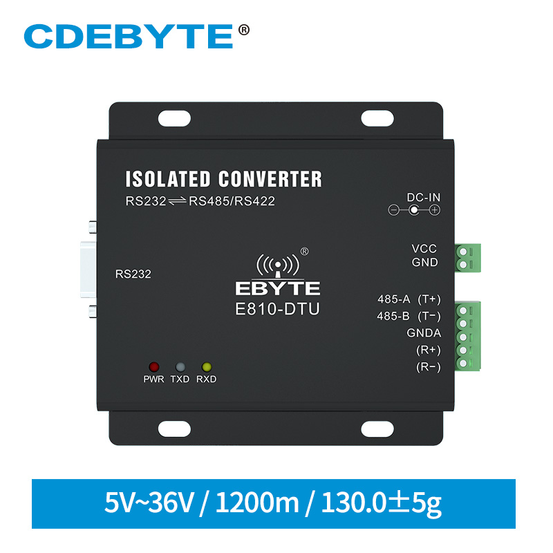 E810-DTU(RS) RS232 TO RS485/RS422 Two Way Transparent Transmission Server Port Converter