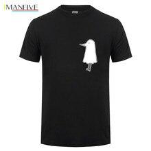 цена Kawaii night punpun t shirts men cute oyasumi pun pun t-shirt homme manga otaku black white tee shirt new anime tshirt camisetas онлайн в 2017 году