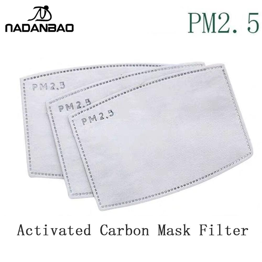 NADANBAO 5-layer Protective Filter Mask Filter PM2.5 Child Mask Chip Dustproof Haze Prevention