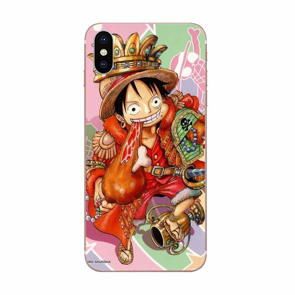 De dibujos animados Anime una pieza Luffy Ace espejo para HTC deseo 530, 626, 628, 630, 816, 820, 830 A9 M7 m8 M9 M10 E9 U11 U12 la vida además de