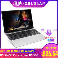 ZEUSLAP 15.6inch Intel Core i7 8GB Ram up to 1TB SSD 1920*1080P FHD Win10 Dual Band WIFI Netbook i7 Laptop Notebook Computer
