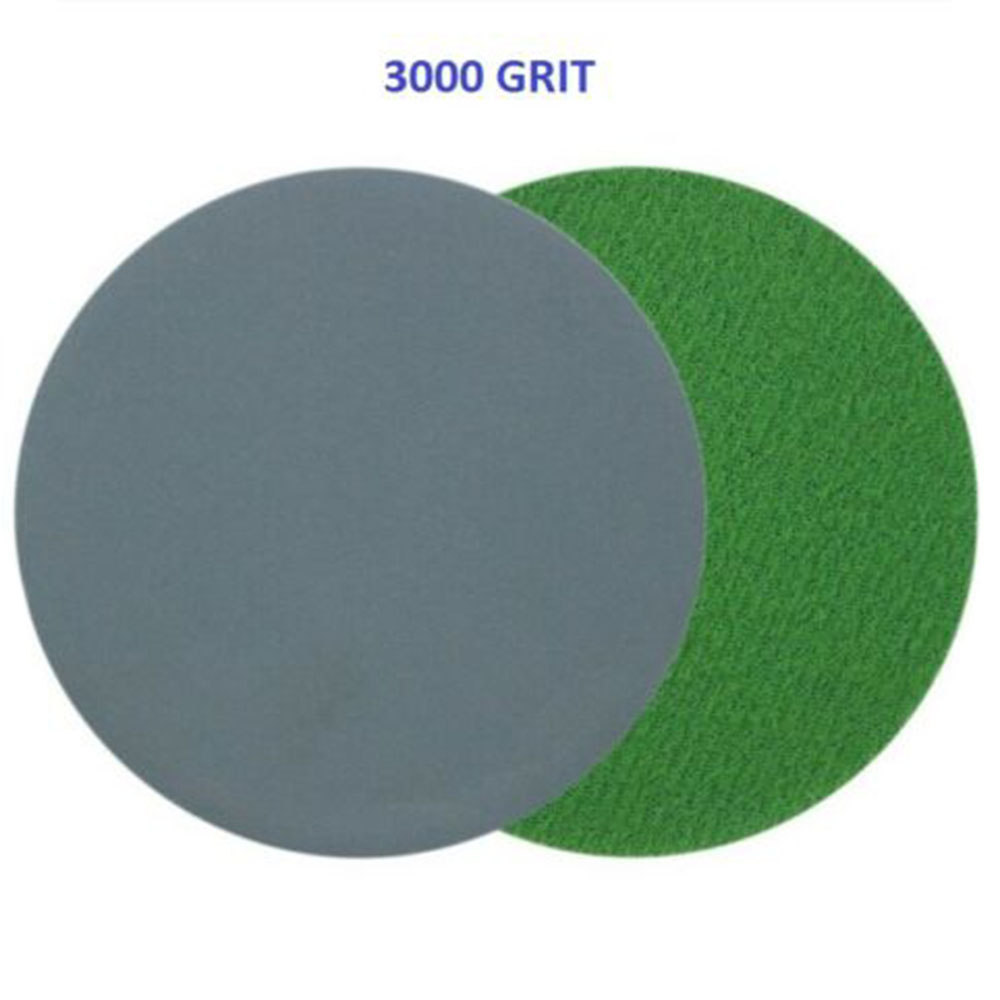 996A3Inch Disc Sandpaper Wet/Dry Grind Polishing 75mm Sanding Disc 3000-10000 For Automotive Metal Polishing