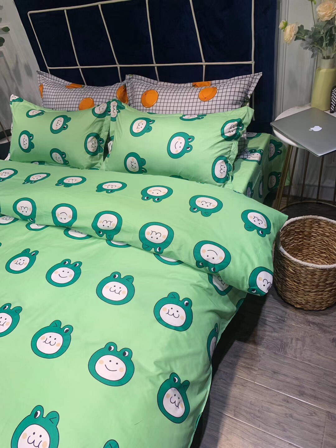 2019 V Wechat Business New Products Hot Selling Polyester Cotton Twill Printed Zara Four-piece Set Bedding Article