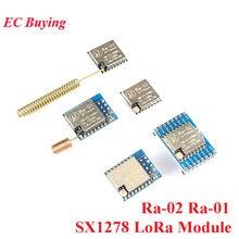 Sx1278 lora módulo Ra-01Ra-02 lora spread spectrum módulo de transmissão sem fio 433 mhz/spi dip tradutor Ra-01 Ra-02 para casa inteligente