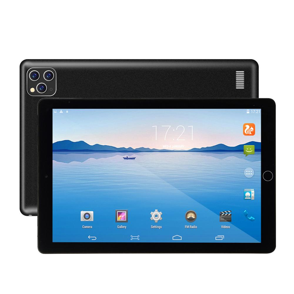 Newest 10 inch Tablet Android 9.0 Dual SIM Dual Camera Tablette 4GB 64GB Wifi Bluetooth Android Tablets PC with GPS Phone Call