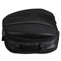 Hot Universal 1pc 7.5L 10L Motorcycle Rear Tail Bag Waterproof Motor Cycle Back Seat Saddle Helmet Pack Shoulder Carry Bag Mayit
