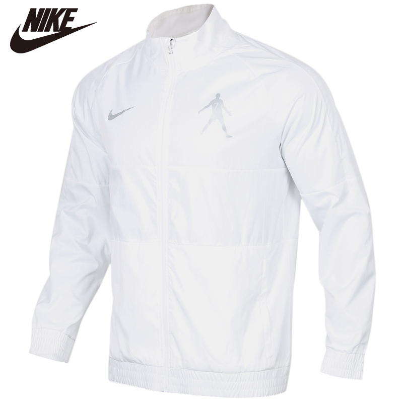 Original NIKE AS CR7 M NK DRY I96 JKT W 100% Cotton Soft Coats Comfortabe Clothing Limited Sale