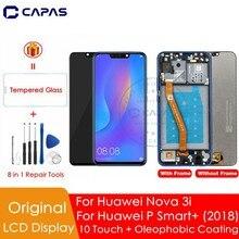 מקורי עבור Huawei נובה 3i LCD תצוגה + מסגרת 10 מגע מסך עבור Huawei נובה 3i LCD מסך החלפת תיקון חלקי חילוף